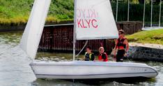 KLYC volwassenzeilschool in actie