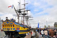 Etoile du Roy bij Oostende voor Anker