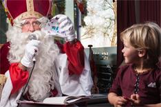 Sinterklaas en de tekening