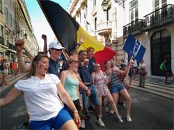 Tall ships Races crew parade