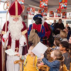 Sinterklaas bij KLYC