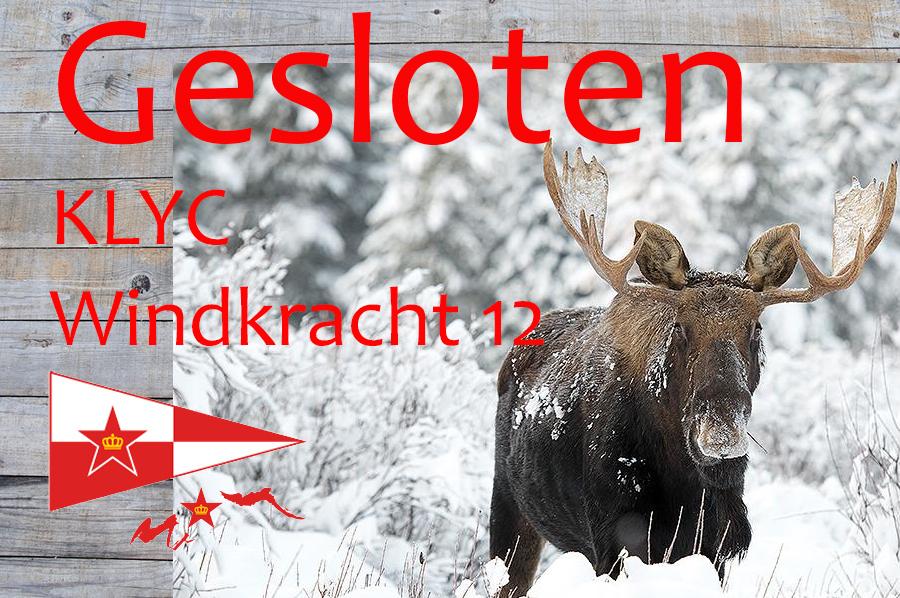 Winterbar Winkdkracht 12 gesloten