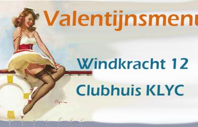Valentijnsmenu Windkracht 12