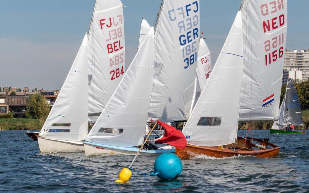 Open Antwerps kampioenschap FJ en Vaurien