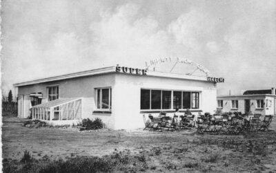 Bouw steiger KLYC 1947-48